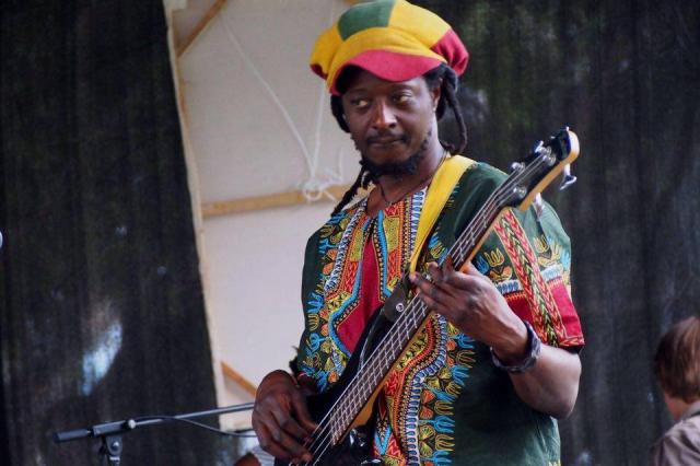 Ticha on bass african music brisbane